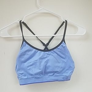 Champion medium periwinkle sports bra